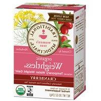 Traditional Medicinals Teas Organic Weightless Tea, Cranberr