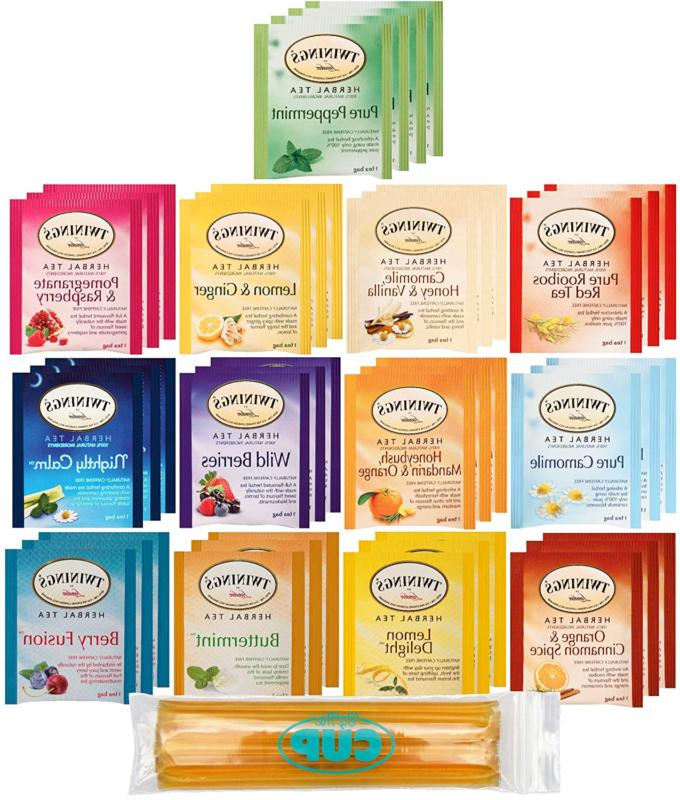 twinings herbal tea bags 40 individually wrapped