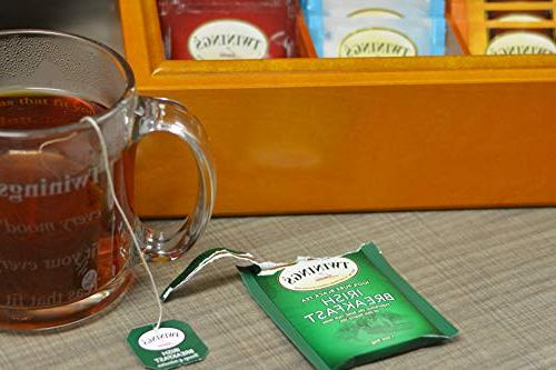 Twinings Hot Tea Sampler Gift Pack, Count Green, Black, Herbal, Grey, Camomile, Chai More Cup