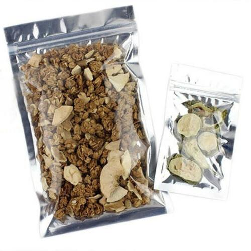 Variety of Sizes 100 Foil Bags
