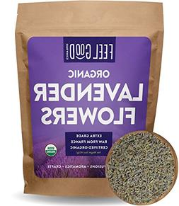 Organic Lavender Flowers Dried - Perfect for Tea, Baking, Le