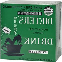 Uncle Lees China Green Dieters Tea Caffeine Free - Natural a