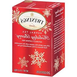 Twinings of London Herbal Holiday Tea – 1 Box, 20 Count Or