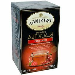 Twinings Of London Black Mixed Berry Tea#44; - Pack of 6