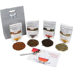Golden Moon Tea - Tea Gift Set | 100% USDA Organic Loose Tea