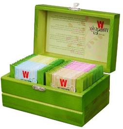 WISSOTZKY Mini Green Tea Chest , 1.97-Ounce Boxes
