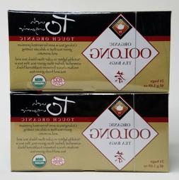 New Touch Organic Oolong Tea 24 Tea Bags Lot of 2 boxes 48 T