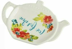 NEW! PIONEER WOMAN TEA BAG HOLDER~WILDFLOWER WHIMSY~NEW FALL