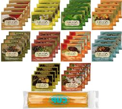 Numi 40 Count, 10 Flavor, Organic Tea Bag Sampler with By Th
