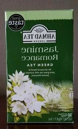Ahmad Tea of London Jasmine Romance Green Tea Tea bags  20s