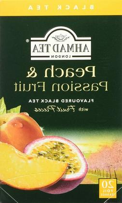 Ahmad Tea of London Peach & Passion Fruit Tea Bags 20s Box