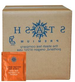 Stash Tea Orange Spice Black Tea 100 Count Box of Tea Bags i