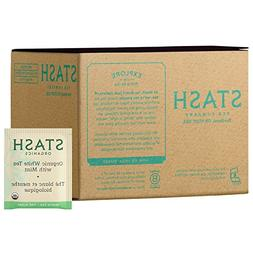 Stash Tea Organic Cascade Mint Herbal Tea 100 Count Tea Bags