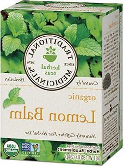 Traditional Medicinals Organic, Lemon Balm, 16 Tea Bags