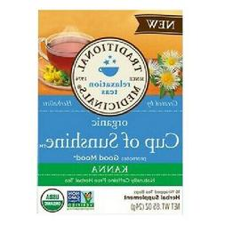 Traditional Medicinals Organic Cup of Sunshine Kanna Relaxti