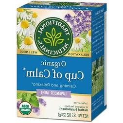 Traditional Medicinals Organic Easy Now Herbal Tea - 16 Tea