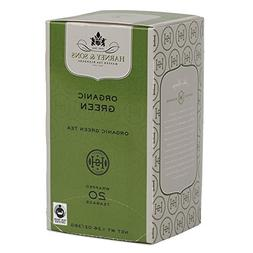 Harney and Sons Organic Green Teabags, 20 Count