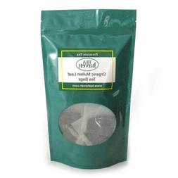 Organic Mullein Leaf Herb Herbal Tea - 25 Tea Bags