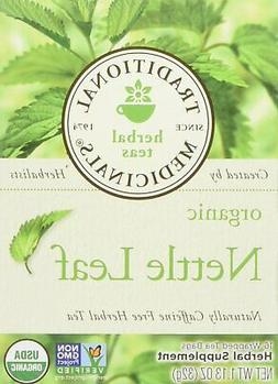 Traditional Medicinals Organic Nettle Leaf 16 Tea Bags Pack