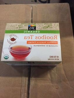 365 EVERYDAY VALUE ORGANIC ROOIBOS TEA 40 TEA BAGS