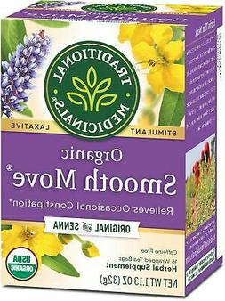 Traditional Medicinals Organic Smooth Move Herbal Stimulant