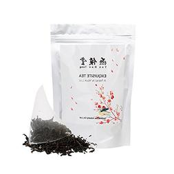 Yan Hou Tang Organic Taiwan Red Jade Oolong Black Tea Bags -