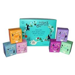 English Tea Shop Organic Wellness Tea Collection, 48 Sachet