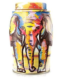 Williamson Painterly Summer Elephant with 40 English Breakfa