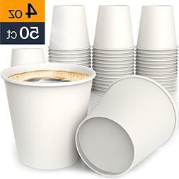 4 oz All-Purpose White Paper Cups  - hot and Cold Beverage C