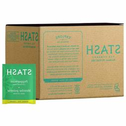 Stash Tea Peppermint Herbal Tea 100 Count Box of Tea Bags Pr
