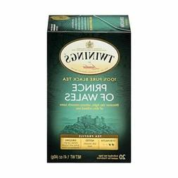 Twinings Prince of Wales Tea, Tea Bags, 20-Count Boxes