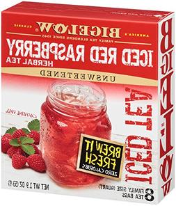 Bigelow Red Raspberry Herb Iced Tea, 8 pk, .24 oz