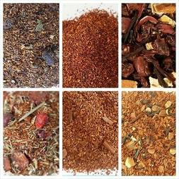 Rooibos Tea Organic loose leaf choice flavors, quanity, tea