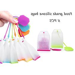 AOWA Silicone Reusable Tea Bag High Temperature Resistant Ca