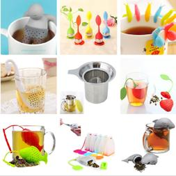 Silicone Tea Bags Infuser Diffuser Loose Leaf Strainer Herba