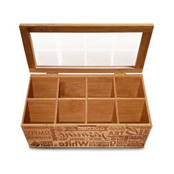 simply renewed tea box organizer chest decorative