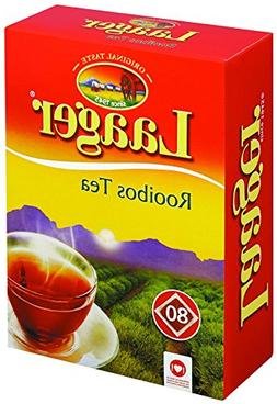 Laager South African Rooibos Tea – 80 count, 7 oz, 100% Na