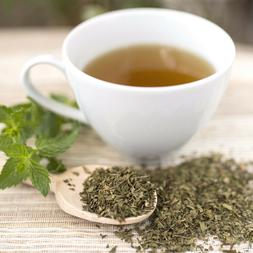 Mint tea peppermint herb loose leaf or tea bags  Mentha pipe