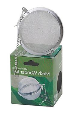 Stainless Steel Loose Tea Infuser Mesh Ball Spice 3 Kettle P