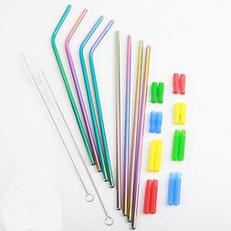 Stainless Steel Straw Tumblers 30oz Reusable Strawsd for Col