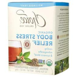 Body Stress Relief Tea 16 Count by Choice Organic Teas