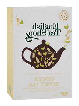 English Tea Shop Super Ginger Honey Tea Bags, 30 Gram