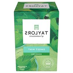 Taylors of Harrogate Sweet Mint Green Tea Infusion, 20 Teaba