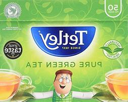 Tetley - Green Tea Pure 50 Bags - 100g