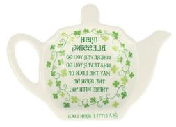 Tea Bag Holder, Clover Irish Blessing
