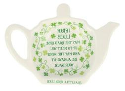 Tea Bag Holder, Clover Irish Saying