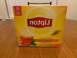 Lipton Tea Bags 100% Natural Tea 100 Count