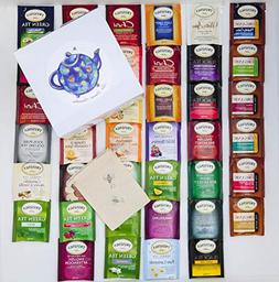 Twinings Tea Bags Sampler Assortment Variety Pack - 40 Count