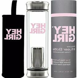 Tea Filters Infuser - Insulated Glass Bottle Strainer Loose