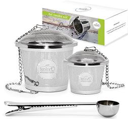 Tea Infuser Set by Chefast  - Combo Kit of Single Cup Infuse